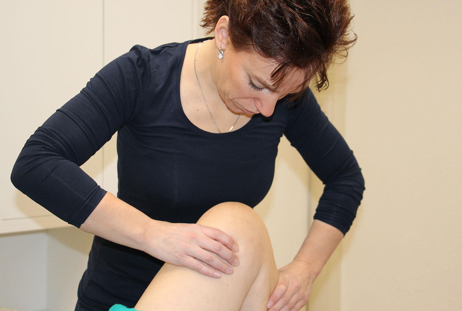 Manuele therapie door Brigitte Dooren